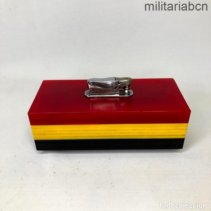 Militaria: Encendedor con los colores de la Bandera Republicana. Segunda República y Guerra Civil. - Foto 4 - 269830258