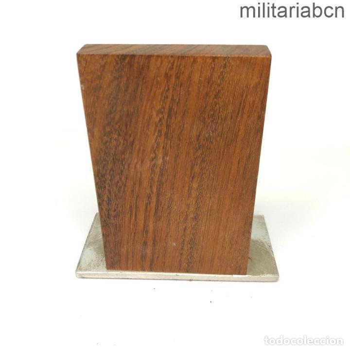 Militaria: Placa conmemorativa de los Reales Somatenes Armados de Cataluña. 11 cm de alto. - Foto 2 - 269830493