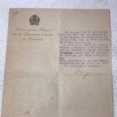 Militaria: REGIMIENTO DE INFANTERÍA ALMANSA N.18 TARRAGONA 1910.. Lote 270922348