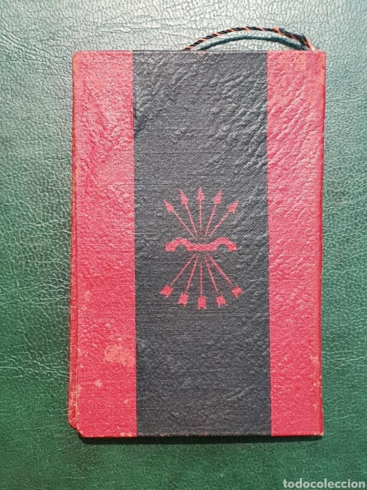 Militaria: CARTILLA PROFESIONAL FALANGE . AÑO 1952 MALAGA - Foto 2 - 272946848