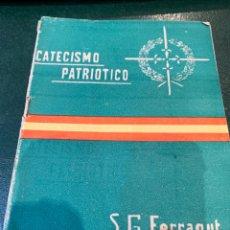 Militaria: CATECISMO PATRIÓTICO - PARA LA EDUCACIÓN MORAL DEL SOLDADO - 1953 -. Lote 274800458