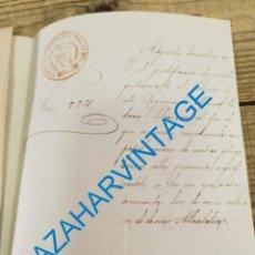 Militaria: VALENCIA, 1883, JUSTIFICANTE REVISTA SOLDADO REGIMIENTO DE INFANTERIA DE LA PRINCESA Nº4. Lote 275851463