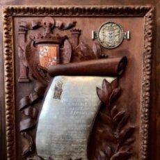 Militaria: ~CONGREGACION DE NUEST. S. DE LA VICTORIA MELILLA~ NOMBRA A DON FRANCISCO FRANCO PRESIDENTE 1937. Lote 276096798