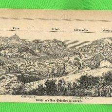 Militaria: SAN SEBASTIÁN, 1875. GRABADO DE PRENSA ALEMANA DE GUERRAS CARLISTAS. Lote 276203153