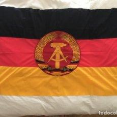 Militaria: BANDERA ORIGINAL DDR RDA ALEMANIA ORIENTAL. Lote 277186633