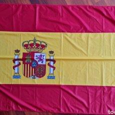 Militaria: BANDERA DE ESPAÑA GRANDE. BUQUES ARMADA ESPAÑOLA. OFICIAL. NO COMERCIABLE. 1,5 X 1 MT. Lote 277651368