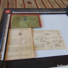 Militaria: CARTILLA MILITAR DE TROPA EJERCITO ESPAÑOLALISTADO 1944 ROKISKI PINTADO. Lote 279440743