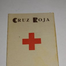 Militaria: GUERRA CIVIL SANIDAD MEDICINA CARNET CRUZ ROJA COMITE CENTRAL DIC. 1936 COMPAÑIA BRIGADA SANITARIA. Lote 280168823