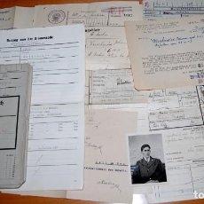 Militaria: LOTE SOLDBUCH + DOCUMENTOS UNTEROFFIZIER DE REG. GEBIRGS JÄGER DE LA WEHRMACHT. Lote 283374838