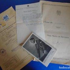Militaria: (MI-210911) CORONEL D.LUIS PUMAROLA JEFE SER.RETAGUARDIA DIVISION AZUL Y LEGION AZUL DOCUMENTOS. Lote 287485553