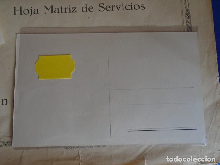 Militaria: (MI-210911) CORONEL D.LUIS PUMAROLA JEFE SER.RETAGUARDIA DIVISION AZUL Y LEGION AZUL DOCUMENTOS - Foto 3 - 287485553