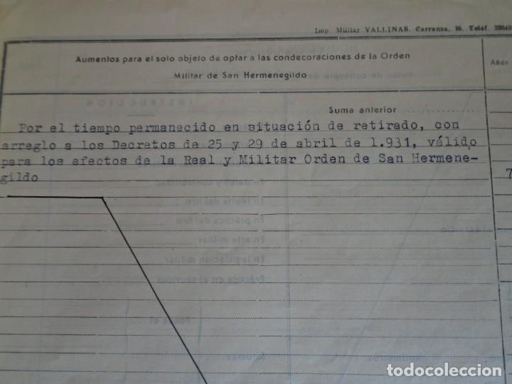 Militaria: (MI-210911) CORONEL D.LUIS PUMAROLA JEFE SER.RETAGUARDIA DIVISION AZUL Y LEGION AZUL DOCUMENTOS - Foto 20 - 287485553