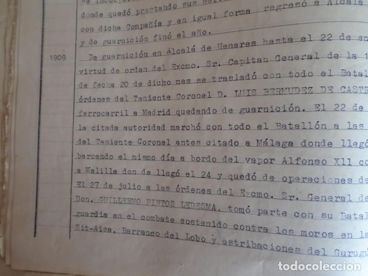 Militaria: (MI-210911) CORONEL D.LUIS PUMAROLA JEFE SER.RETAGUARDIA DIVISION AZUL Y LEGION AZUL DOCUMENTOS - Foto 23 - 287485553