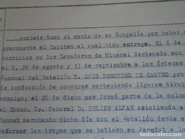 Militaria: (MI-210911) CORONEL D.LUIS PUMAROLA JEFE SER.RETAGUARDIA DIVISION AZUL Y LEGION AZUL DOCUMENTOS - Foto 24 - 287485553