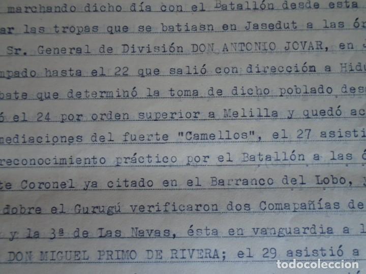 Militaria: (MI-210911) CORONEL D.LUIS PUMAROLA JEFE SER.RETAGUARDIA DIVISION AZUL Y LEGION AZUL DOCUMENTOS - Foto 25 - 287485553