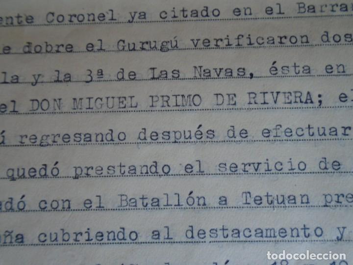 Militaria: (MI-210911) CORONEL D.LUIS PUMAROLA JEFE SER.RETAGUARDIA DIVISION AZUL Y LEGION AZUL DOCUMENTOS - Foto 26 - 287485553