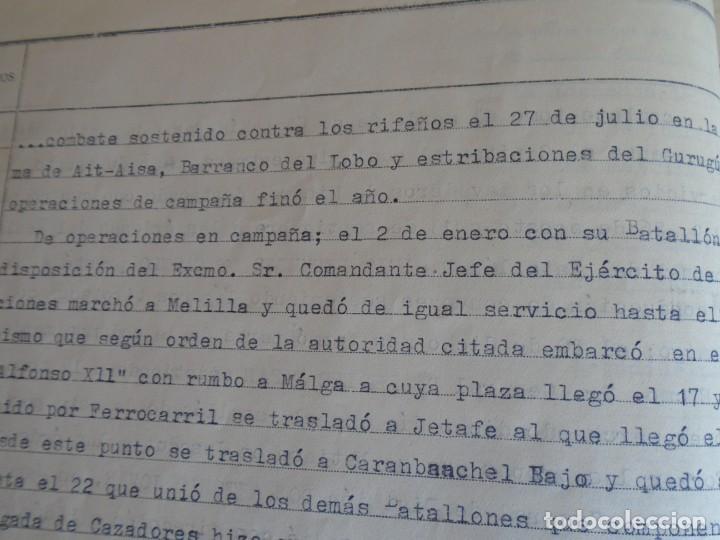 Militaria: (MI-210911) CORONEL D.LUIS PUMAROLA JEFE SER.RETAGUARDIA DIVISION AZUL Y LEGION AZUL DOCUMENTOS - Foto 28 - 287485553