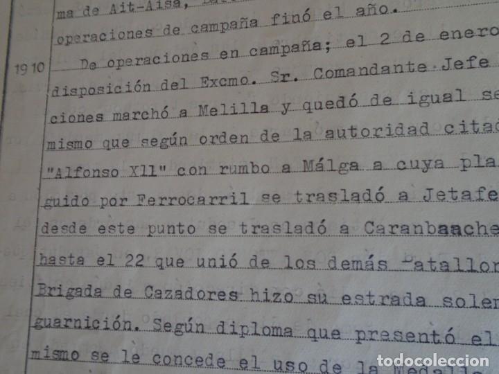 Militaria: (MI-210911) CORONEL D.LUIS PUMAROLA JEFE SER.RETAGUARDIA DIVISION AZUL Y LEGION AZUL DOCUMENTOS - Foto 29 - 287485553