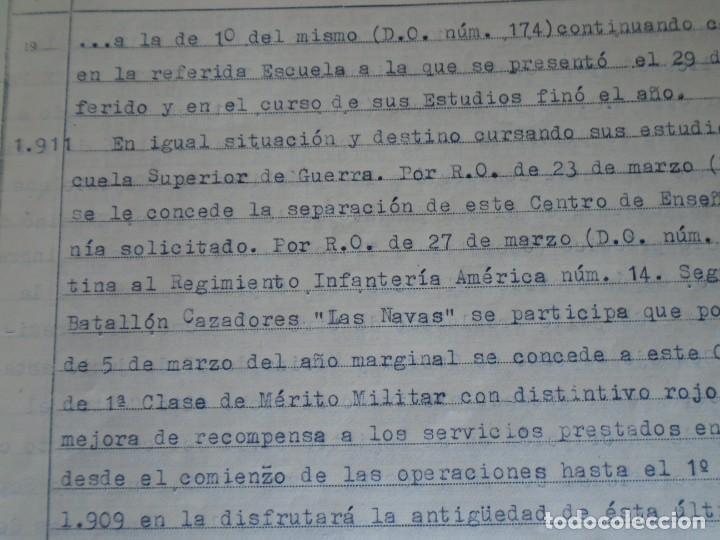 Militaria: (MI-210911) CORONEL D.LUIS PUMAROLA JEFE SER.RETAGUARDIA DIVISION AZUL Y LEGION AZUL DOCUMENTOS - Foto 30 - 287485553