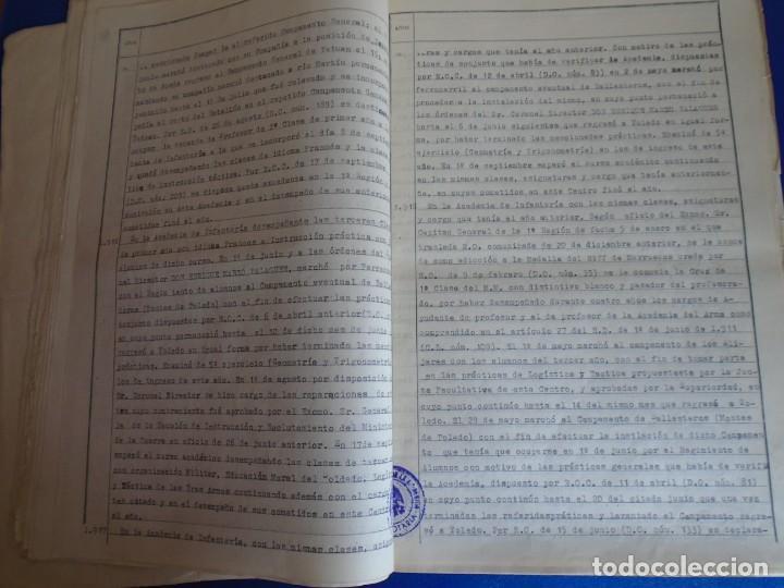 Militaria: (MI-210911) CORONEL D.LUIS PUMAROLA JEFE SER.RETAGUARDIA DIVISION AZUL Y LEGION AZUL DOCUMENTOS - Foto 34 - 287485553