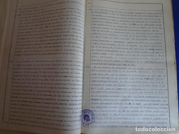 Militaria: (MI-210911) CORONEL D.LUIS PUMAROLA JEFE SER.RETAGUARDIA DIVISION AZUL Y LEGION AZUL DOCUMENTOS - Foto 36 - 287485553