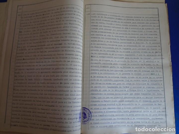 Militaria: (MI-210911) CORONEL D.LUIS PUMAROLA JEFE SER.RETAGUARDIA DIVISION AZUL Y LEGION AZUL DOCUMENTOS - Foto 37 - 287485553