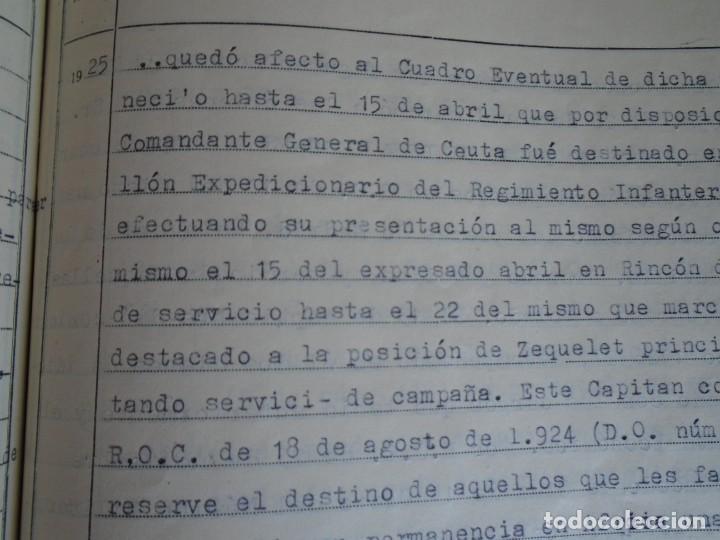 Militaria: (MI-210911) CORONEL D.LUIS PUMAROLA JEFE SER.RETAGUARDIA DIVISION AZUL Y LEGION AZUL DOCUMENTOS - Foto 39 - 287485553