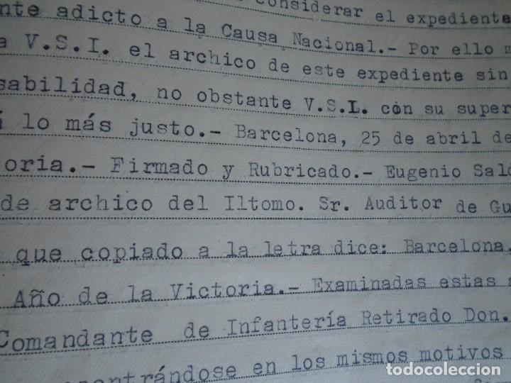 Militaria: (MI-210911) CORONEL D.LUIS PUMAROLA JEFE SER.RETAGUARDIA DIVISION AZUL Y LEGION AZUL DOCUMENTOS - Foto 50 - 287485553