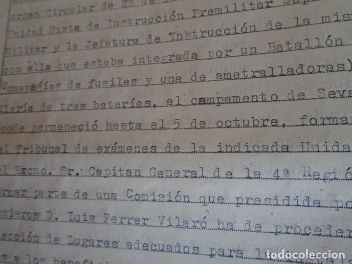 Militaria: (MI-210911) CORONEL D.LUIS PUMAROLA JEFE SER.RETAGUARDIA DIVISION AZUL Y LEGION AZUL DOCUMENTOS - Foto 52 - 287485553