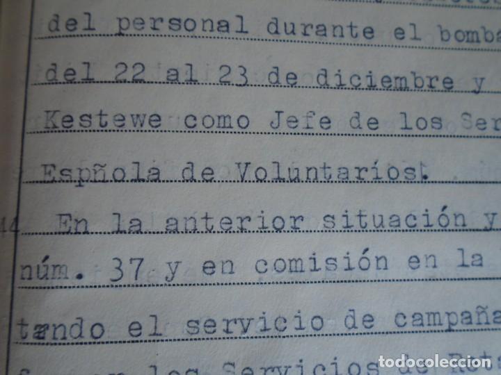 Militaria: (MI-210911) CORONEL D.LUIS PUMAROLA JEFE SER.RETAGUARDIA DIVISION AZUL Y LEGION AZUL DOCUMENTOS - Foto 64 - 287485553