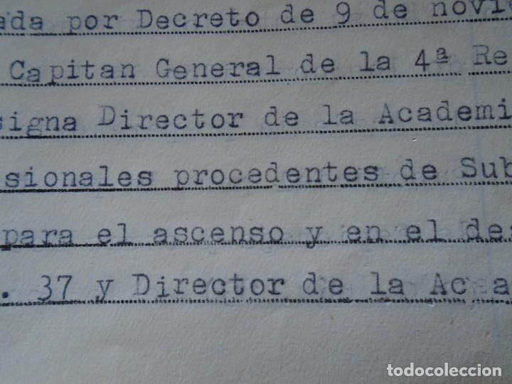 Militaria: (MI-210911) CORONEL D.LUIS PUMAROLA JEFE SER.RETAGUARDIA DIVISION AZUL Y LEGION AZUL DOCUMENTOS - Foto 68 - 287485553
