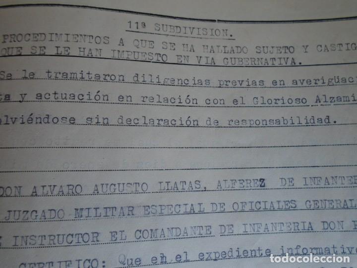 Militaria: (MI-210911) CORONEL D.LUIS PUMAROLA JEFE SER.RETAGUARDIA DIVISION AZUL Y LEGION AZUL DOCUMENTOS - Foto 77 - 287485553