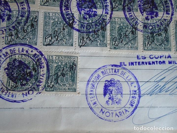 Militaria: (MI-210911) CORONEL D.LUIS PUMAROLA JEFE SER.RETAGUARDIA DIVISION AZUL Y LEGION AZUL DOCUMENTOS - Foto 85 - 287485553
