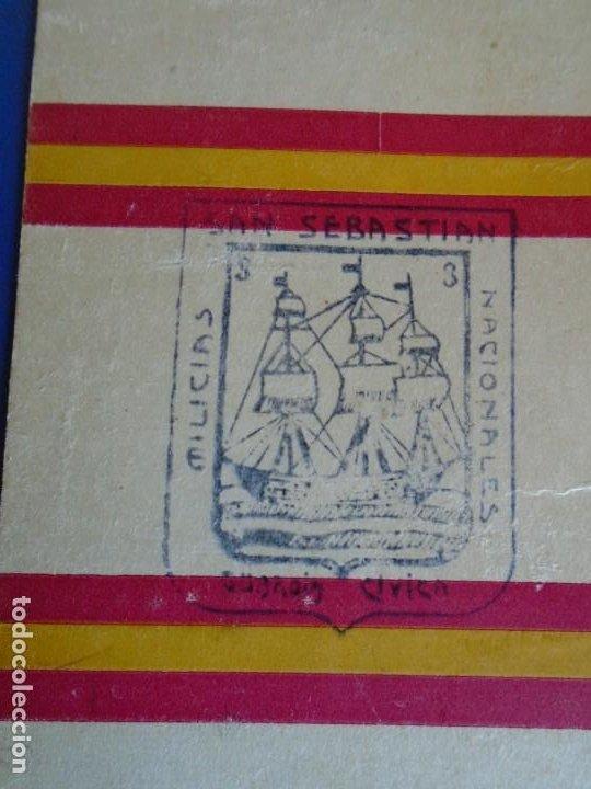Militaria: (MI-210913)CARNET GUARDIA CIVICA NACIONAL DE SAN SEBASTIAN - 1-4-1937 - GUERRA CIVIL - Foto 5 - 287989823