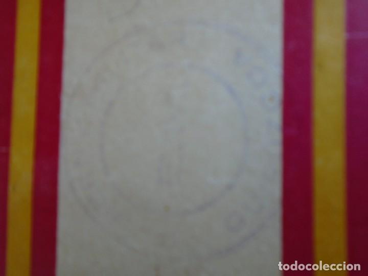 Militaria: (MI-210913)CARNET GUARDIA CIVICA NACIONAL DE SAN SEBASTIAN - 1-4-1937 - GUERRA CIVIL - Foto 6 - 287989823