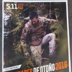 Militaria: CATALOGO COMERCIAL 5.11. Lote 288887148