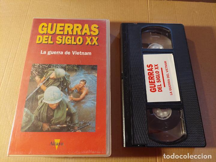 VÍDEO VHS. LA GUERRA DEL VIETNAM (Militar - Propaganda y Documentos)