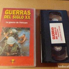 Militaria: VÍDEO VHS. LA GUERRA DEL VIETNAM. Lote 289561793