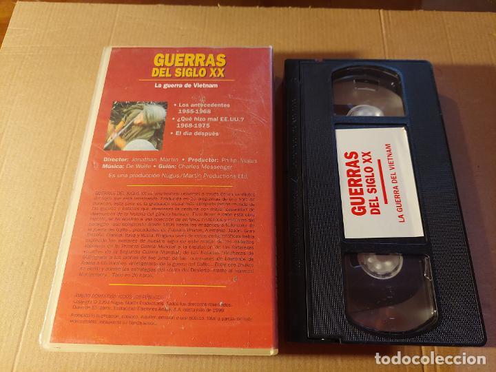 Militaria: Vídeo VHS. LA GUERRA DEL VIETNAM - Foto 2 - 289561793