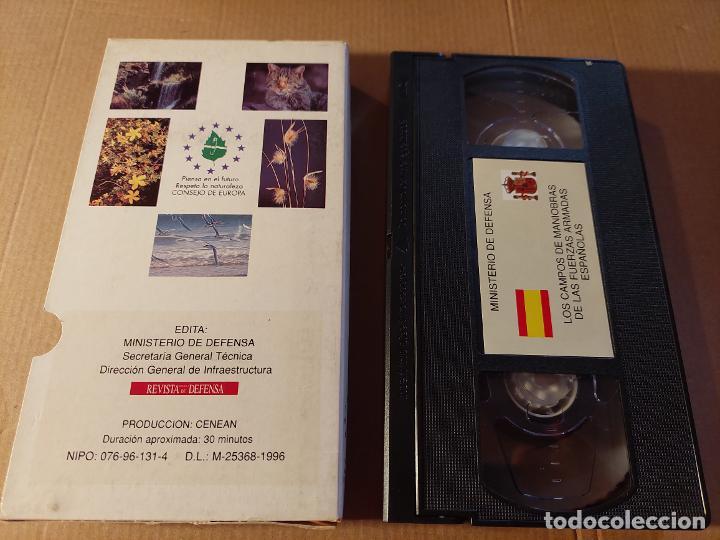 Militaria: Vídeo VHS. Campos de Maniobras del Ejército español - Foto 2 - 289562463