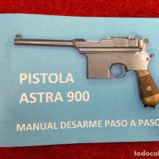 Militaria: MANUAL ASTRA 900 A COLOR. Lote 289565283