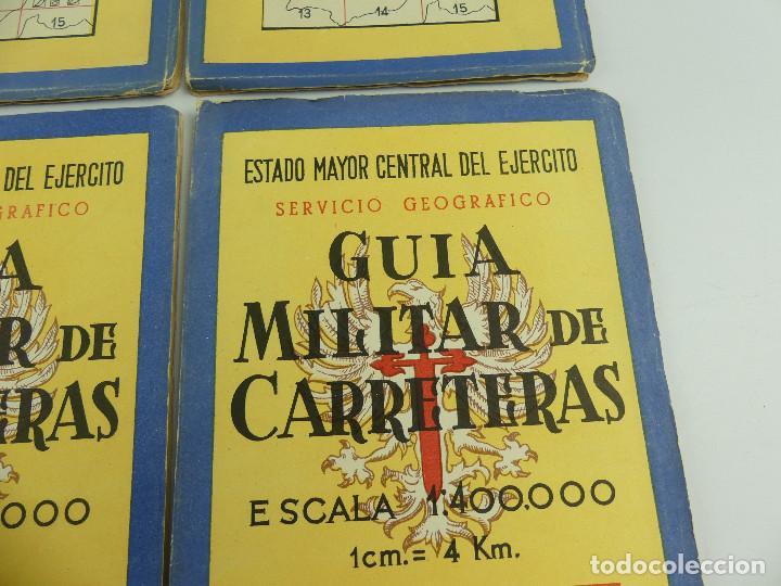 Militaria: COLECCION LOTE DE 12 GUIAS MILITAR DE CARRETERAS ESTADO MAYOR CENTRAL DEL EJERCITO - Foto 10 - 290145018