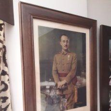 Militaria: IMPRESIONANTE RETRATO OFICIAL DEL CAUDILLO GENERALISIMO FRANCO - FOTOGRAFO JALON ANGEL - GRAN TAMAÑO. Lote 291201933