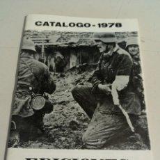 Militaria: CATÁLOGO 1978 EDICIONES BAUSP REF. UR EST. Lote 291923008