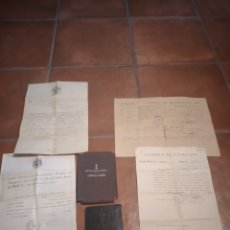 Militaria: LOTE DOCUMENTOS MARINA GUERRA Y OTROS. Lote 294553568