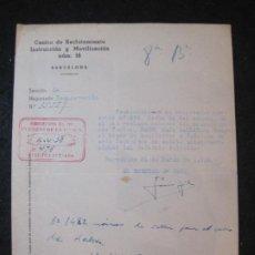 Militaria: GUERRA CIVIL-BARCELONA-CENTRO RECLUTAMIENTO MOVILIZACION E INSTRUCCION-AÑO 1938-VER FOTOS-(K-4472). Lote 295727513