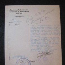 Militaria: GUERRA CIVIL-TARRAGONA-CENTRO RECLUTAMIENTO MOVILIZACION E INSTRUCCION-AÑO 1938-VER FOTOS-(K-4474). Lote 295727603