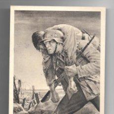 Militaria: ANTIGUO ENTERO POSTAL TARJETA POSTAL ALEMANA III REICH ALEMÁN II SEGUNDA GUERRA MUNDIAL AÑO 1943. Lote 295825028