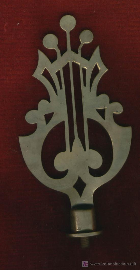 REMATE LIRA PARA ASTA (Militar - Reproducciones, Réplicas y Objetos Decorativos)