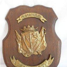 Militaria: METOPA ANTIGUA ARMADA MARINA ESPAÑOLA DESTRUCTOR ALCALA GALIANO. Lote 25491976
